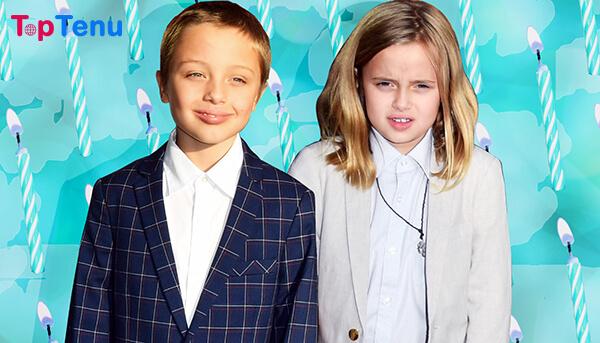 Knox & Vivienne Jolie Pitt Richest Kids