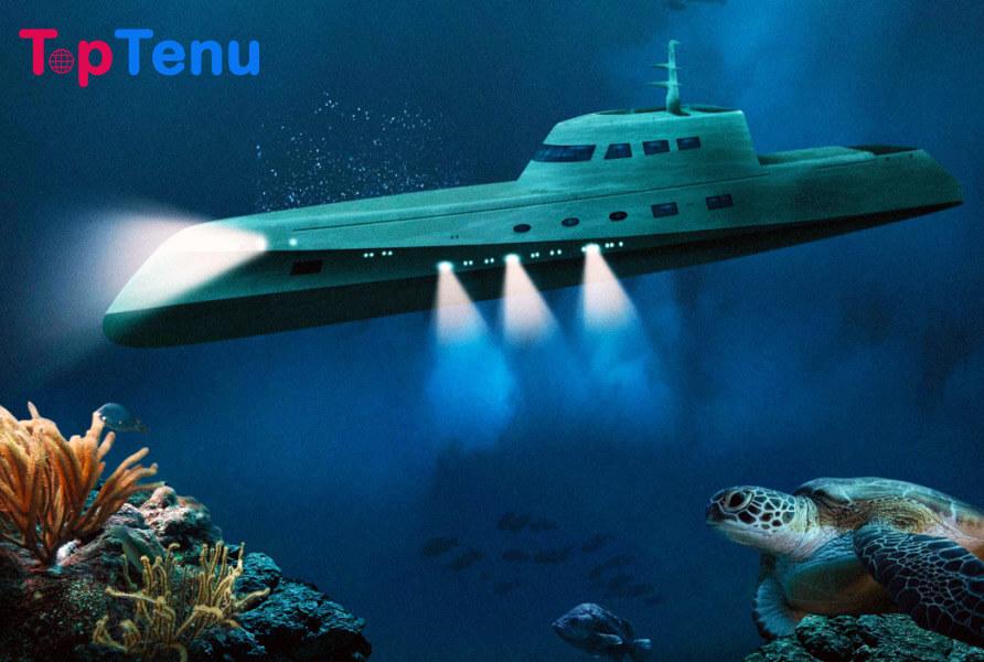 Luxury Submarine Hotel
