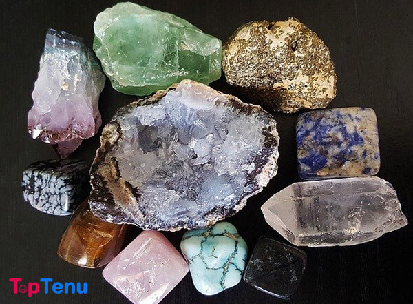 gems Fluorite Production