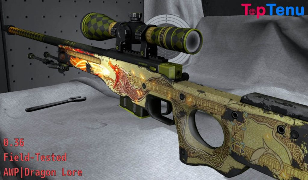 Souvenir AWP Dragon Lore Field Tested