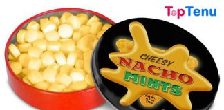 Nacho Cheese Mints